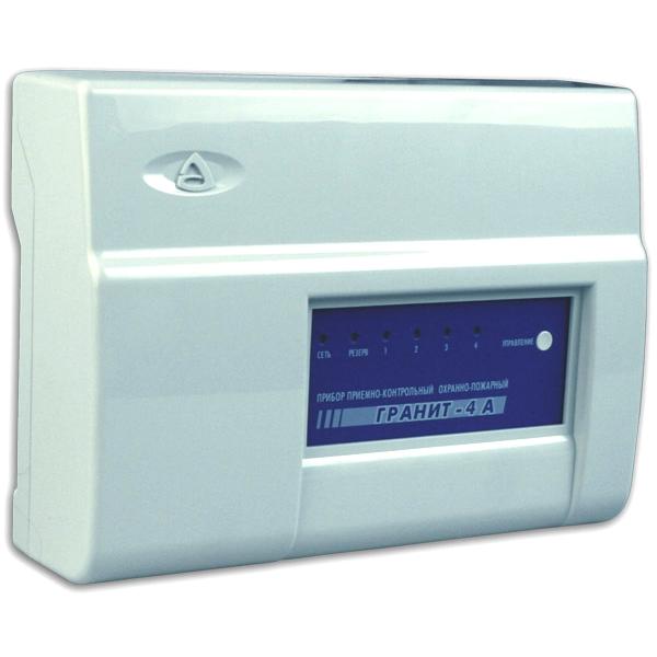 Прибор для охраны по GSM и ГТС каналам на 4 шлейфа