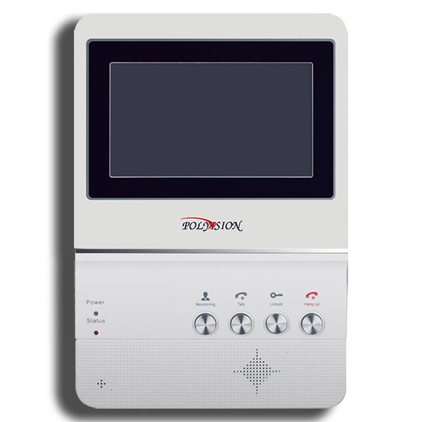 PVD-4S v.5.2 миниатюрный цветной видеодомофон