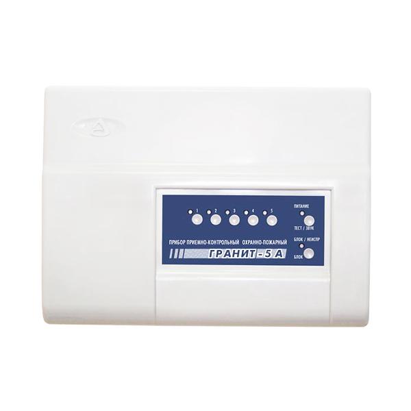 Прибор для охраны по GSM и ГТС каналам на 5 шлейфов