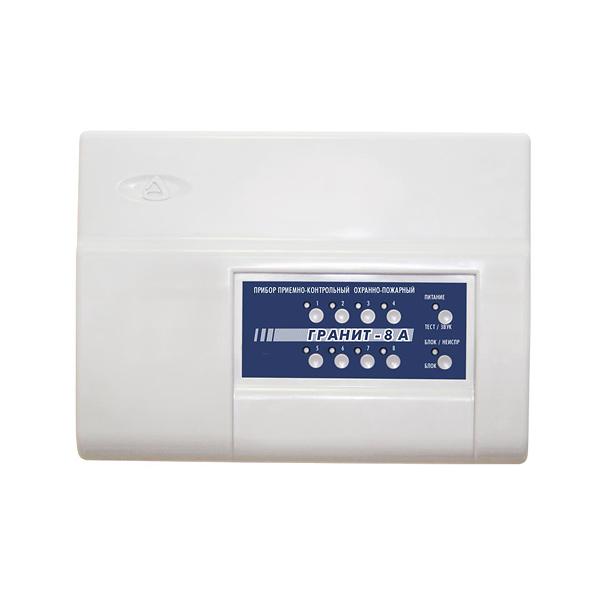 Прибор для охраны по GSM и ГТС каналам на 8 шлейфов