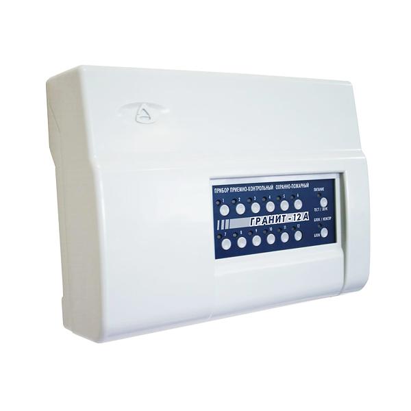 Прибор для охраны по GSM и ГТС каналам на 12 шлейфов