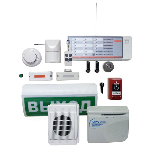 Адресная охранно-пожарная радиоканальная система