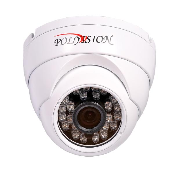 Купольная AHD 1080p ИК-видеокамера (IMX322+NVP2441H) с фиксированным объективом