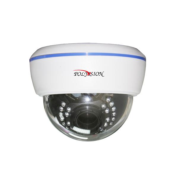 Купольная AHD 1080p ИК-видеокамера (IMX322+NVP2241H) с вариофокальным объективом
