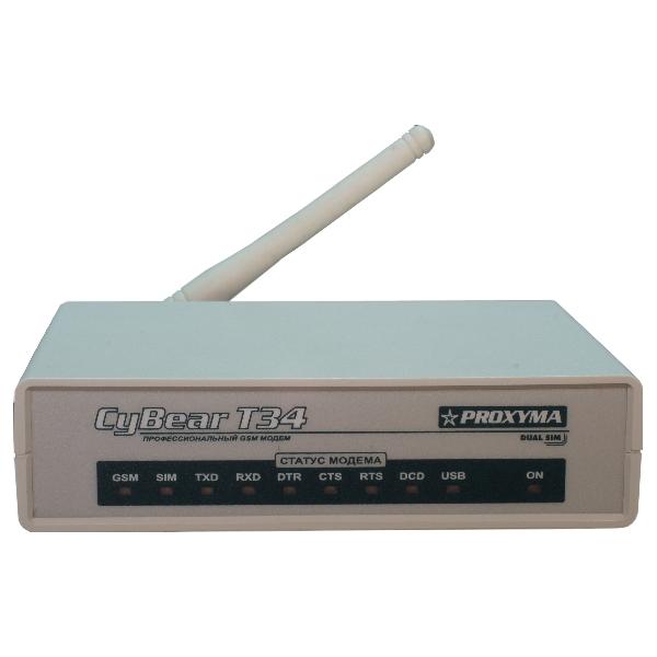GSM-модем для управления, программирования S632-2GSM и организации прямой телефонной связи со стороны ПЦО