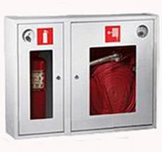 Шкаф пожарный Пульс ШПК-315НОБ (навесной открытый белый)