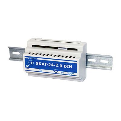 Источника вторичного электропитания резервированный SKAT-24-2.0-DIN