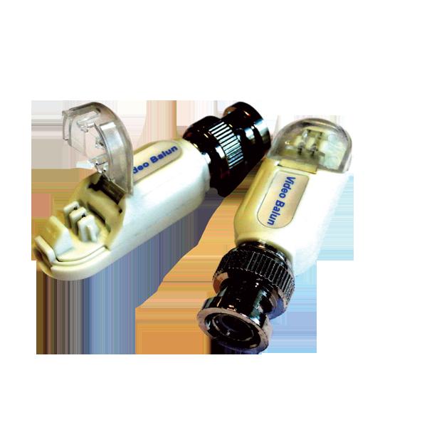Комплект пассивных приёмо-передатчиков видеосигнала по витой паре