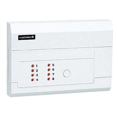 Объектовый приёмно-контрольный прибор с передатчиком без считывателя