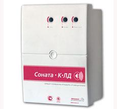 Соната-К-Л-Д (диктофон) Блок речевого оповещения функции контроля линии (2сооб. до 8сек.,24 Вт./2 Ом. 15Вт./ 4 Ом.)