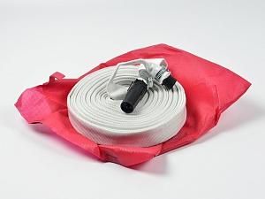 Рукав пожарный квартирный Универсал (19 мм, со штуцером и стволом, в чехле)