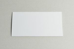 Пластик белый для знаков 205х105 мм