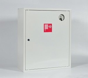 Шкаф пожарный Пульс ШПК-310НЗБ (навесной закрытый белый)