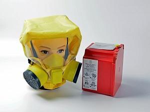 Самоспасатель УФМС ШАНС-Е (30 мин.) с футляром-контейнером