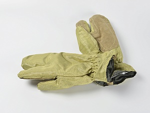 Перчатки пожарного трехпалые тканевые Силотекс