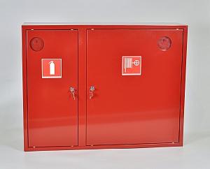 Шкаф пожарный ШПК-315НЗК (навесной закрытый красный)