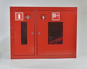 Шкаф пожарный Пульс ШПК-315ВОК (встраиваемый открытый красный)