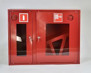 Шкаф пожарный ШПК-315НОК (навесной открытый красный)