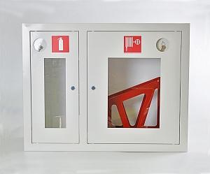 Шкаф пожарный ШПК-315ВОБ (встраиваемый открытый белый)