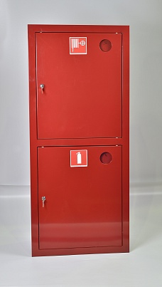 Шкаф пожарный ШПК-320ВЗК (встраиваемый закрытый красный)