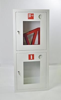 Шкаф пожарный Пульс ШПК-320ВОБ (встраиваемый открытый белый)