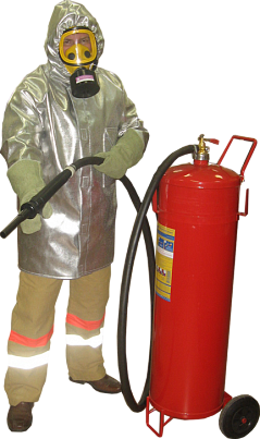 Плащ металлизированный комплекта защитной экипировки пожарного-добровольца (КЗЭПД) ШАНС-Д