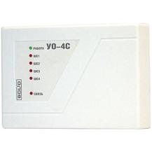 УО-4С исп.02 (контроль 4 шс.sms через встроенный модем ,12В) прибор приемно-контрольный
