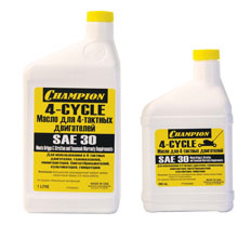Масло четырехтактное SAE-30 (0,6 л)