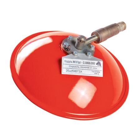 Модуль порошкового пожаротушения взрывозащищённый