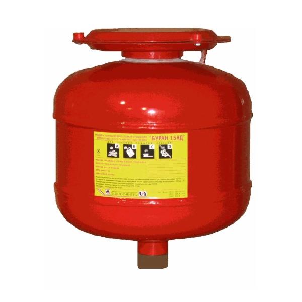Взрывозащищённый модуль порошкового пожаротушения кратковременного действия на высоте до 5.5 м