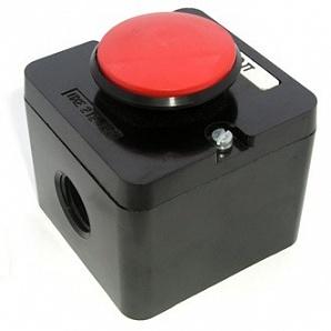 Пост кнопочный ПКЕ 212-1У2 (красный гриб)