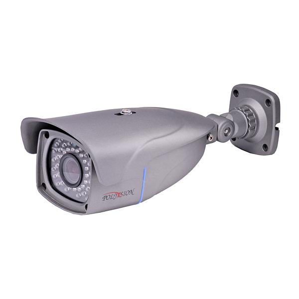 Уличная IP видеокамера 1080p с ИК-подсветкой, детекцией движения, аудио и PoE