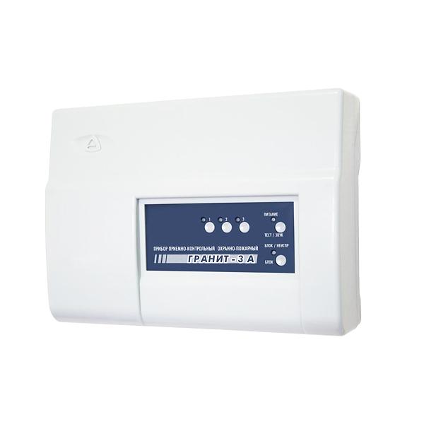 Прибор для охраны по GSM и ГТС каналам на 3 шлейфа