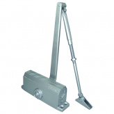 Доводчик для дверей весом не более 75 кг с фиксацией открытого положения