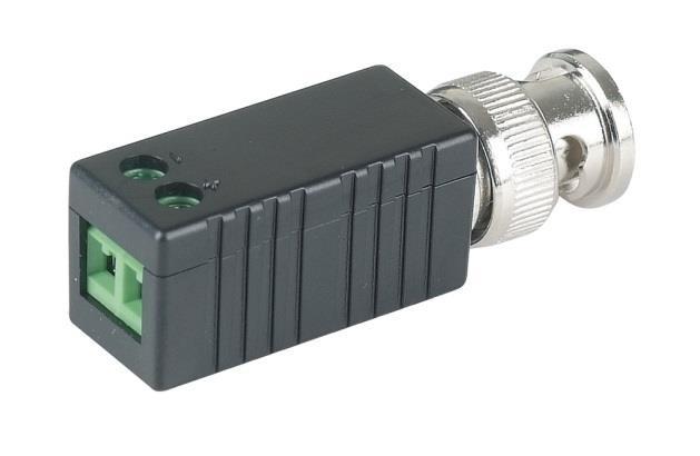Пассивный приёмопередатчик HDCVI / TVI / AHD по витой паре