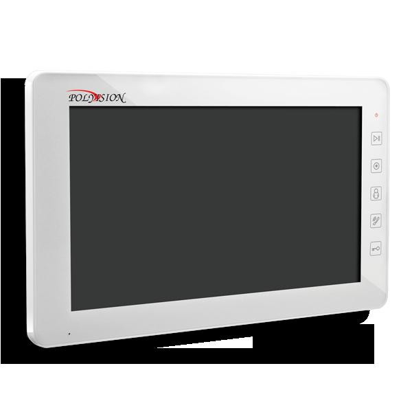 Многофункциональный сенсорный 10-дюймовый монитор видеодомофона