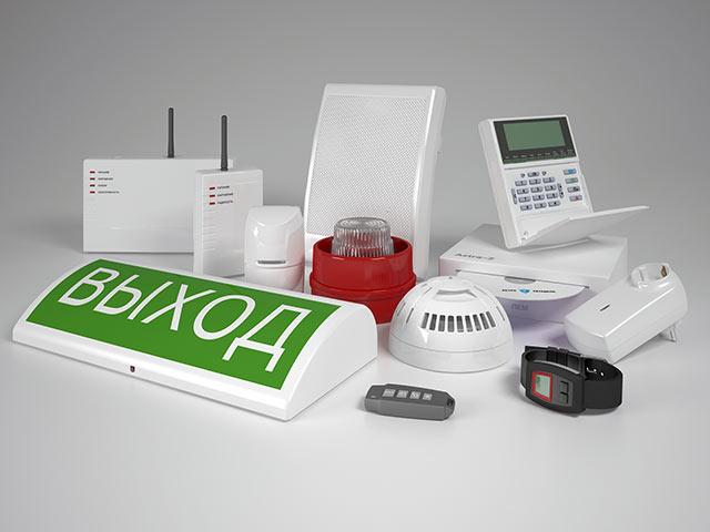 Объектовая система беспроводной охранно-пожарной сигнализации
