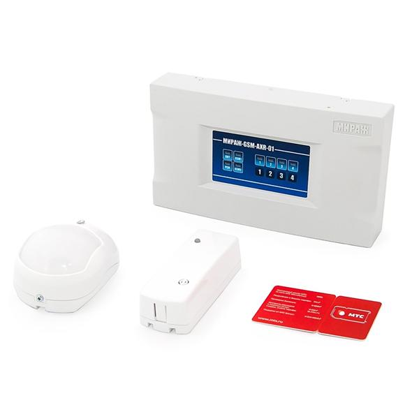 Комплект беспроводной GSM-сигнализации