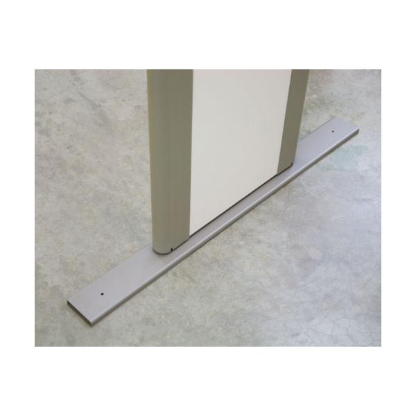 Комплект пластин для крепления арочного металлодетектора к полу