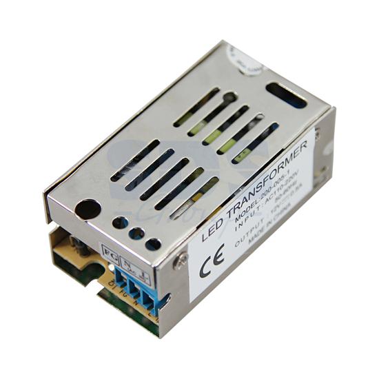 Источник питания 110-220V AC/12V DC, 1A, 12W с разъёмами под винт, без влагозащиты (IP23)