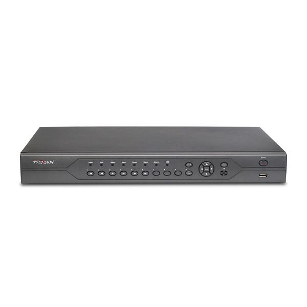 32-канальный мультигибридный видеорегистратор (AHDM+IP+SD) c поддержкой 2 жёстких дисков