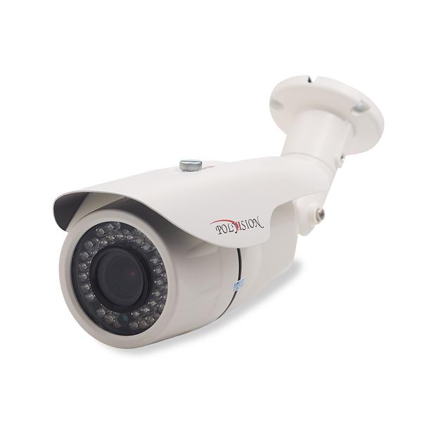 Уличная FullHD IP-видеокамера с ИК-подсветкой и моторизированным объективом