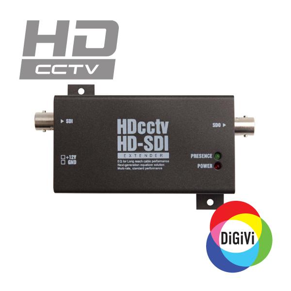 Видеоповторитель для систем охранного видеонаблюдения HD-SDI