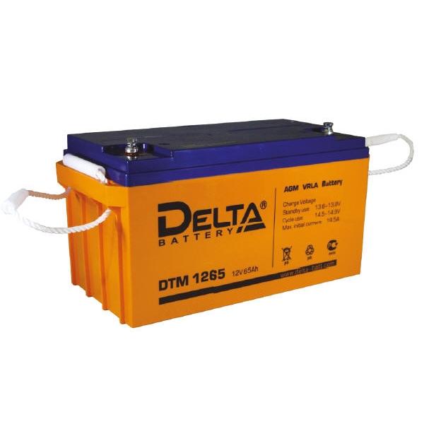 Cвинцово-кислотная аккумуляторная батарея серии DTM