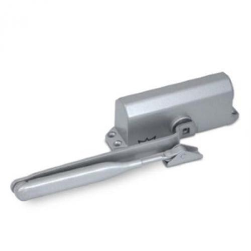 Двухскоростной доводчик для дверей весом не более 50 кг