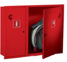 Шкаф пожарный Пульс ШПК-315ВЗК (встраиваемый закрытый красный)