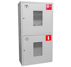 Шкаф пожарный Пульс ШПК-320-12НОБ (навесной открытый белый)