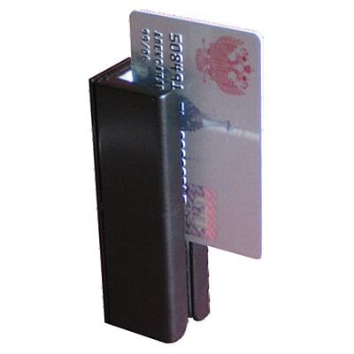 Считыватель банковских карт с магнитной полосой в антивандальном корпусе