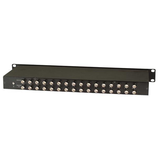 Устройство защиты цепей видеосигналов на 16 каналов (для коаксиального кабеля)