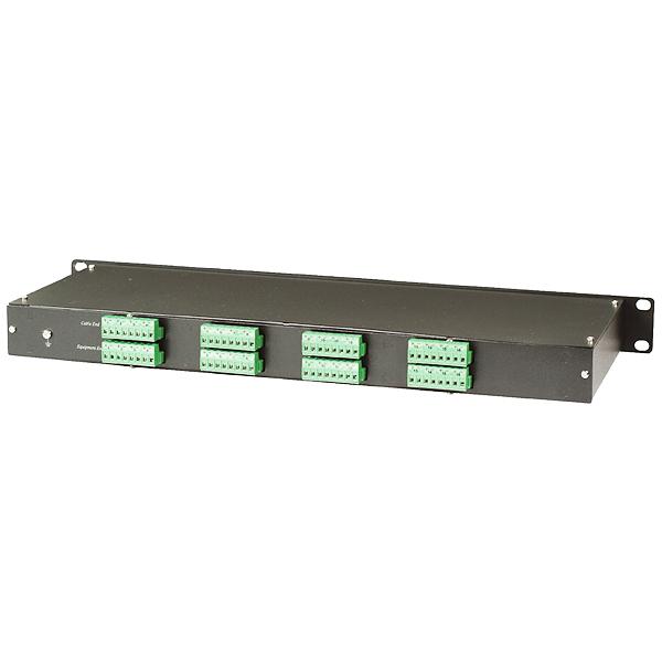 Устройство защиты цепей видеосигналов на 16 каналов (для кабеля UTP CAT5)